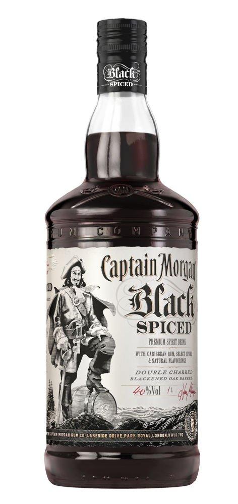 Představujeme: Captain Morgan Black Spiced